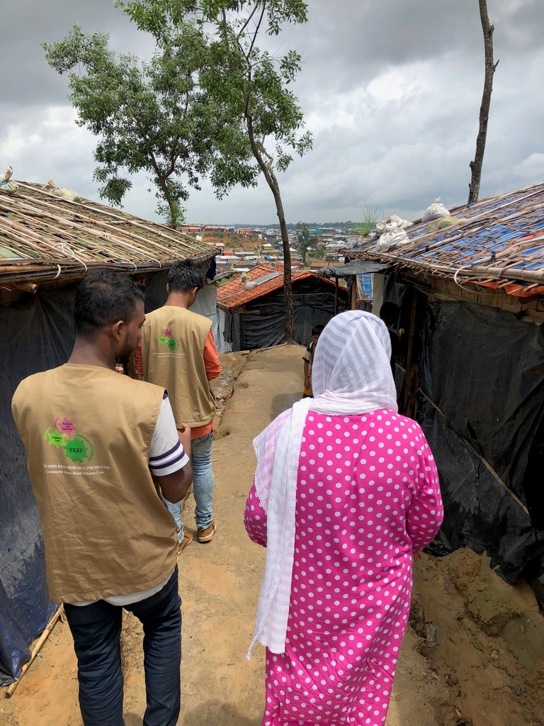 Palliative care training for humanitarian healthcare providers in Rohingya refugees crisis using online classes