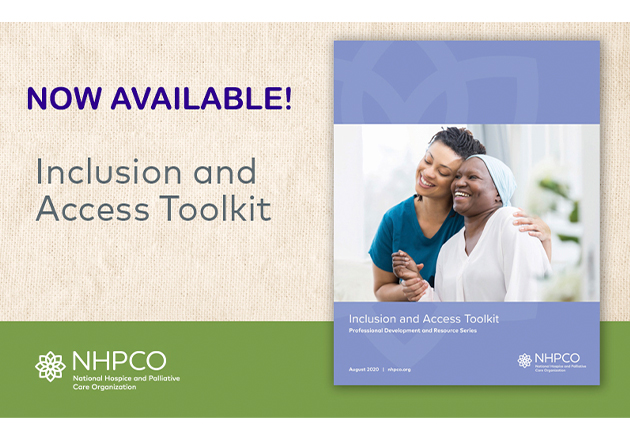 NHPCO Diversity Advisory Council Releases Inclusion and Access Toolkit