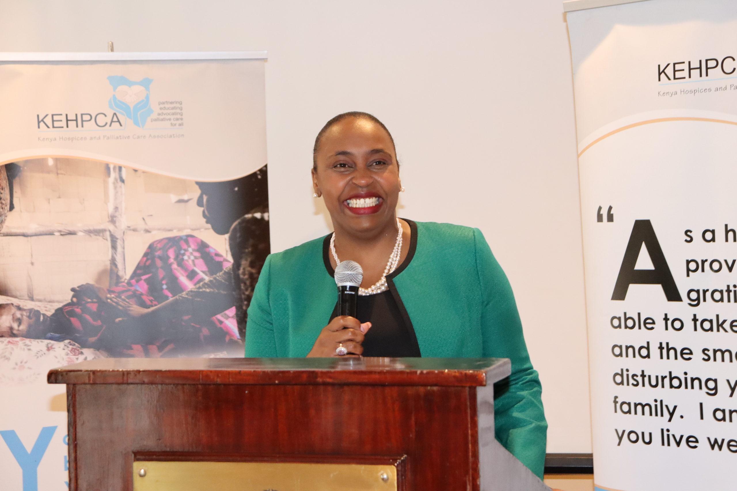 Kenya Hospices and Palliative Care Association Announces Kenya's Goodwill Ambassador for Palliative Care