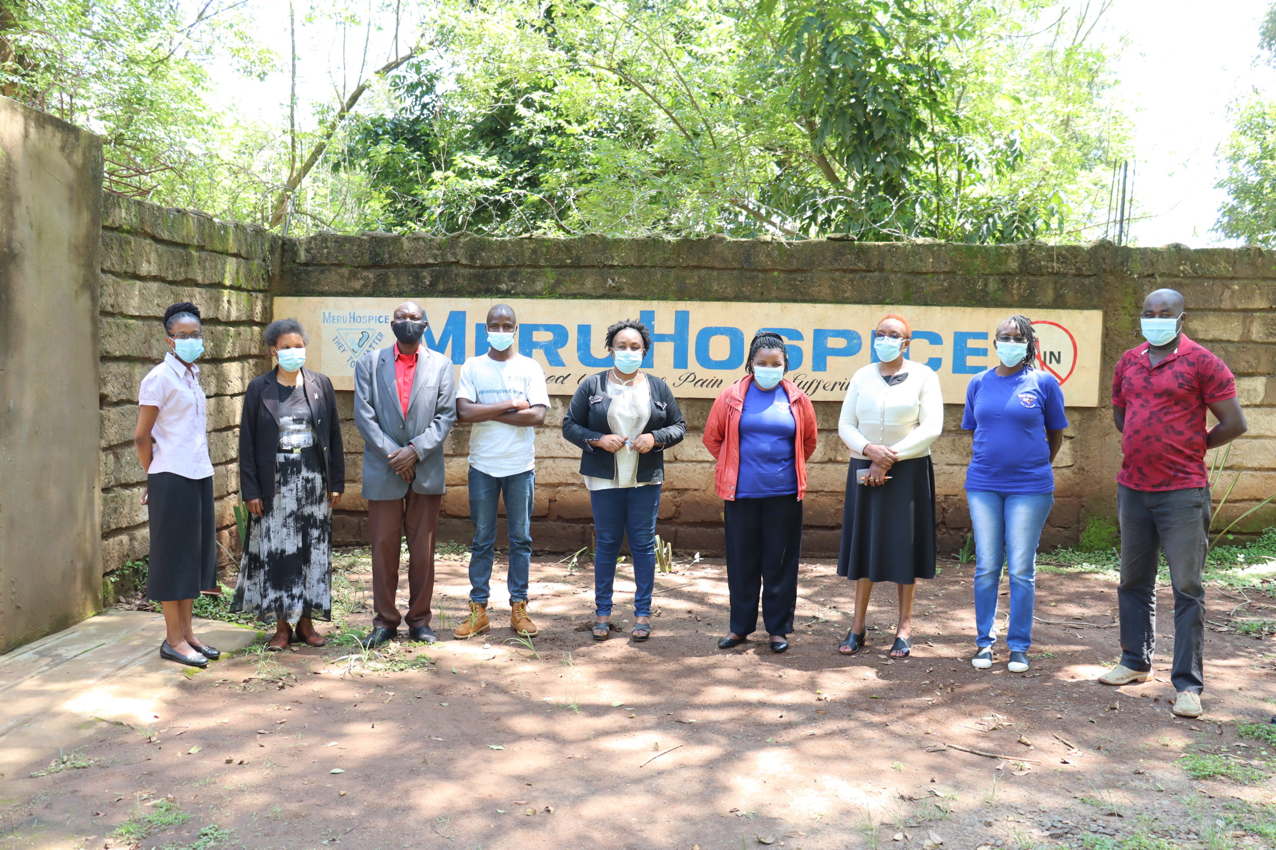 ANOTHER CELEBRATION FOR MERU PALLIATIVE CARE CHAMPIONS