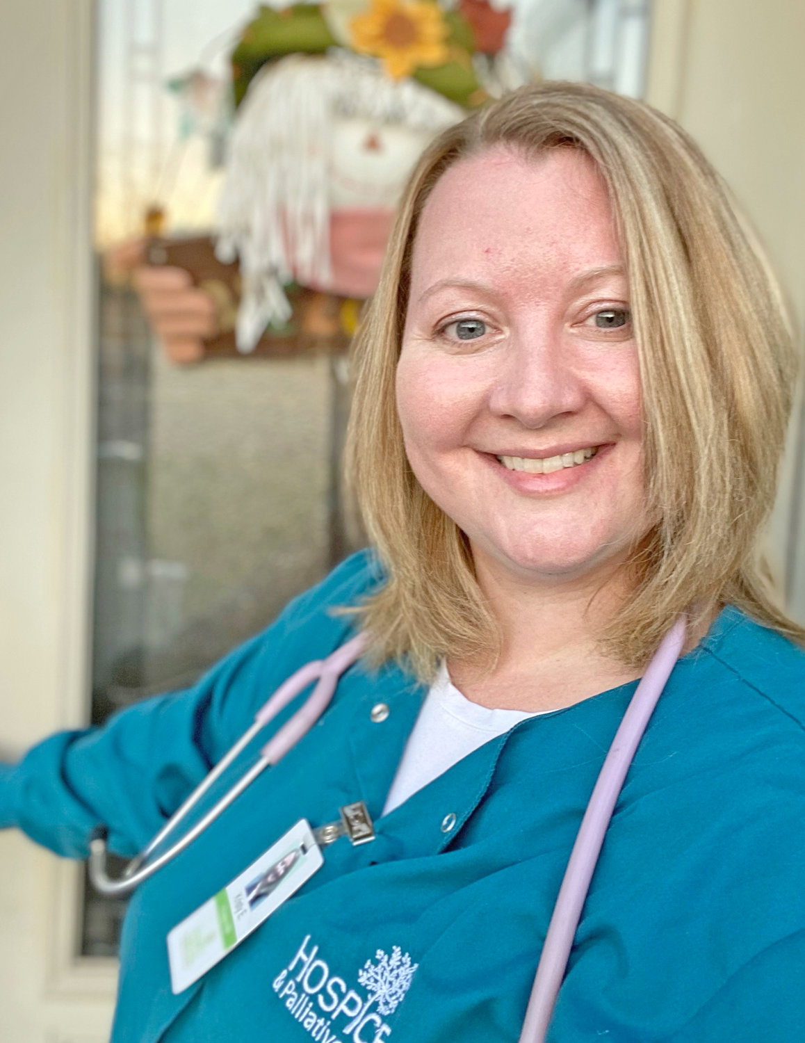 Hospice care 'comes from the heart'.