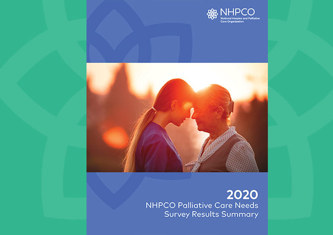 NHPCO Releases Findings from 2020 Palliative Care Needs Survey