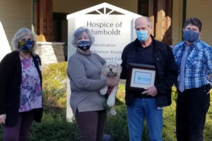 Hospice of Humboldt in Eureka, CA has been selected as Pet Peace of Mind's 2020 Program of the Year.