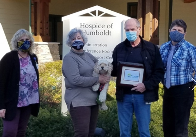 Pet Peace of Mind Names Hospice of Humboldt as Program of the Year
