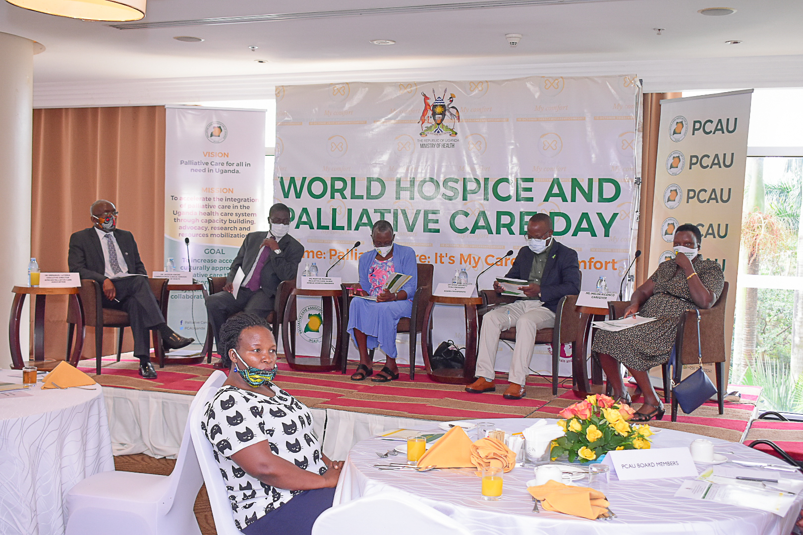 WORLD HOSPICE AND PALLIATIVE CARE DAY 2020 COMMEMORATION IN UGANDA