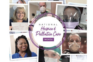 November is National Hospice and Palliative Care Month