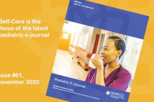 NHPCO pediatric e-journal, issue #61 focuses on self-care.