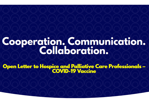 Coalition of Hospice and Palliative Care Organizations Recommends COVID-19 Vaccination