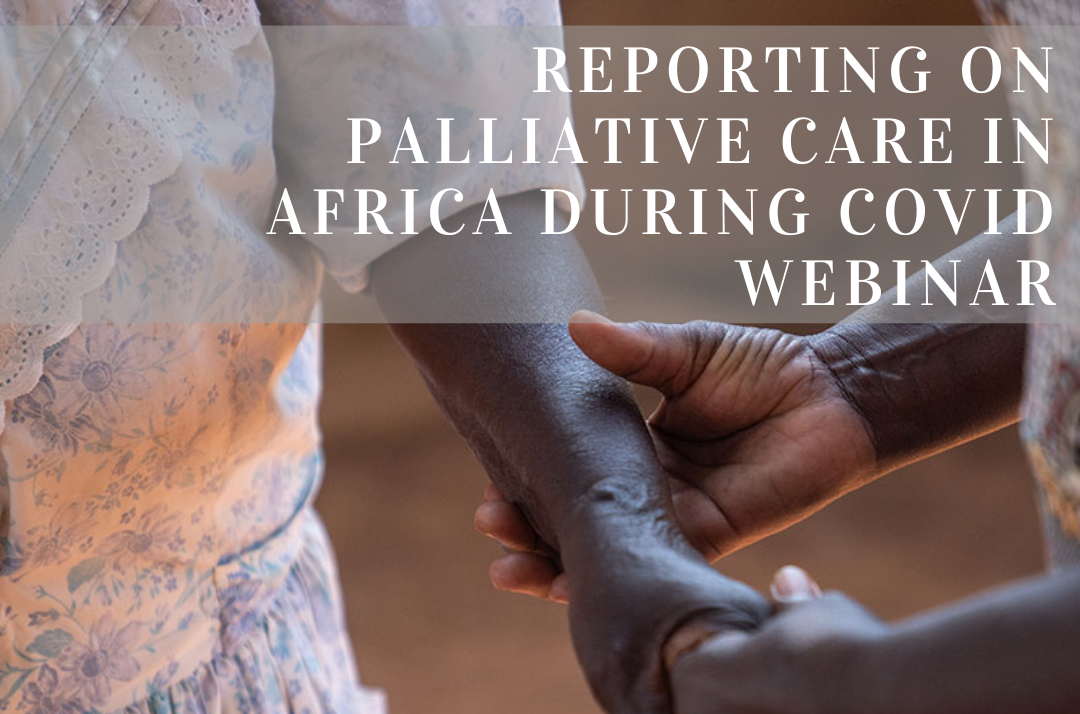 African Journalists Welcome Training in Palliative Care