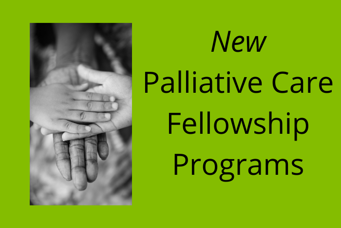 New Pediatric Palliative Care Fellowship Programs