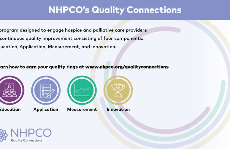 NHPCO Launches Innovative Quality Connections Program for Hospice and Palliative Care Providers