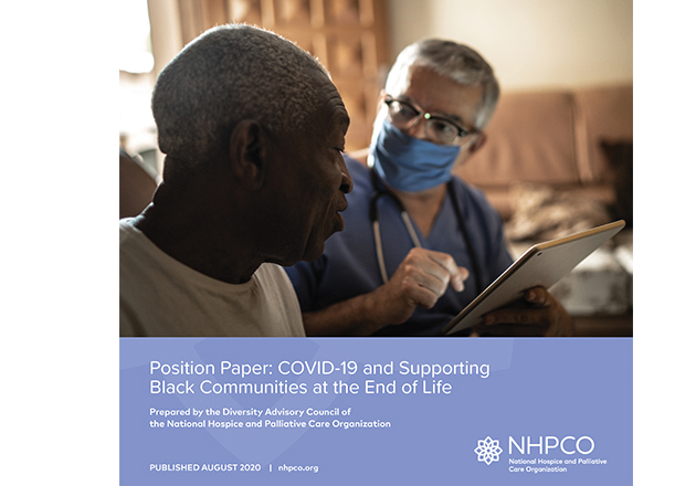 COVID-19 and Supporting Black Communities at the End of Life