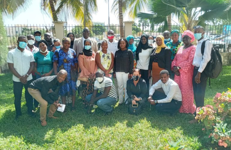 Children's Palliative Care takes a great leap forward in The Gambia