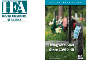 HFA's new book, Living with Grief Since COVID-19