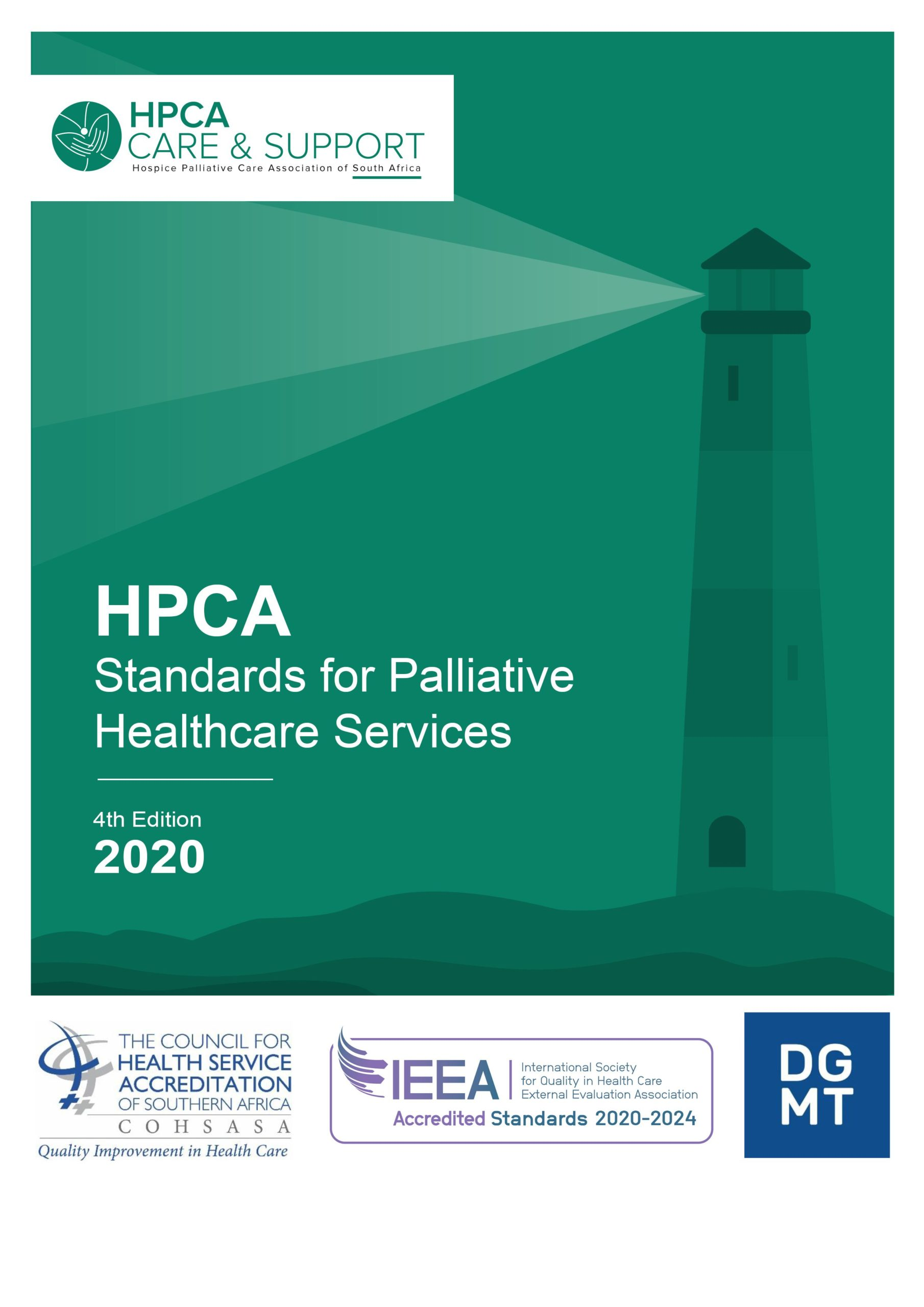 4th edition of SA's Standards for Palliative Healthcare Services ensures continued credibility and quality of local palliative healthcare sector