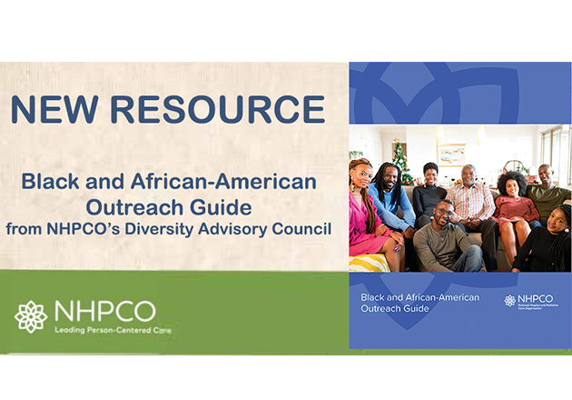 New Hospice and Palliative Care Outreach Guide for Black and African-American Communities