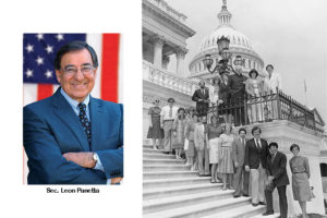 Leon Panetta to speak about creation of Medicare Hospice Benefit.
