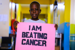 Childhood I am beating cancer