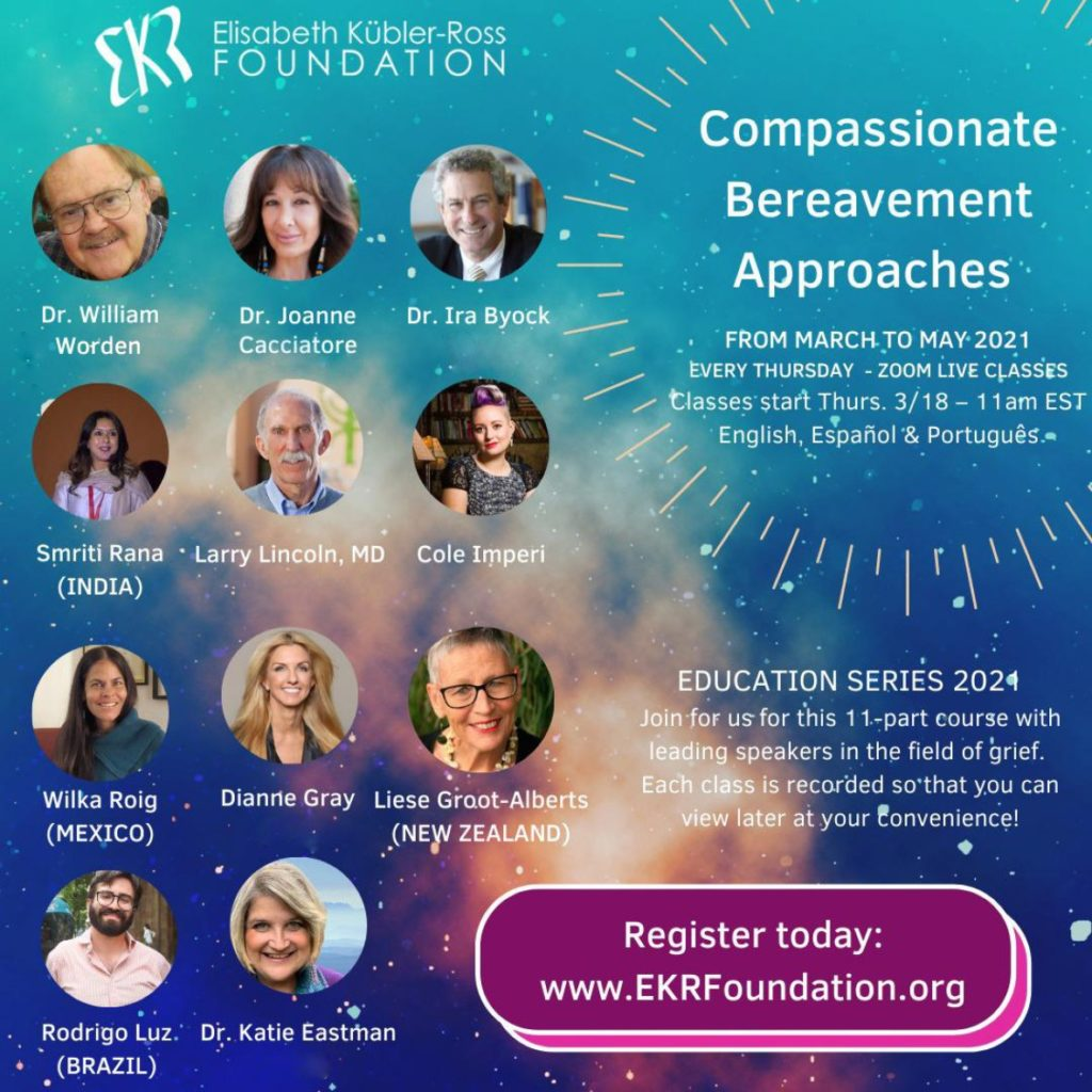 Compassionate Bereavement Approaches - a new course