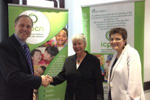 Paul, alongside Ms Sabine Kraft and Prof Julia Downing