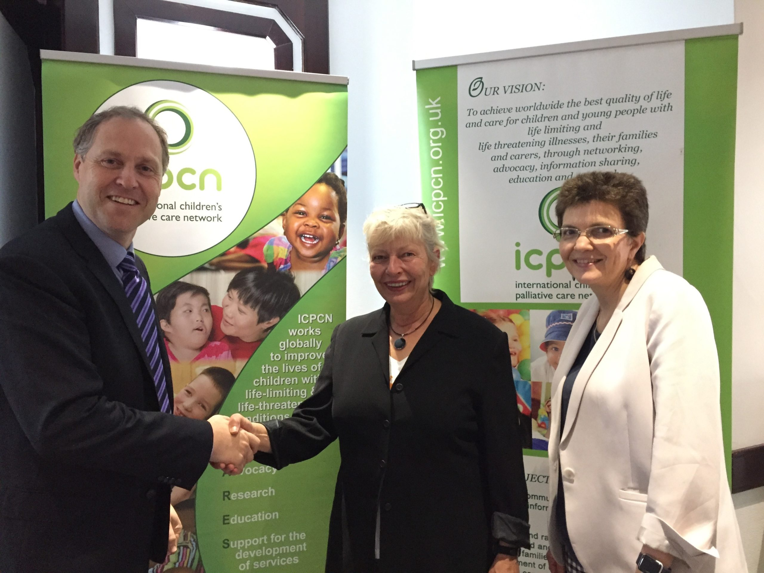 ICPCN says thank you to its outgoing Board Chair