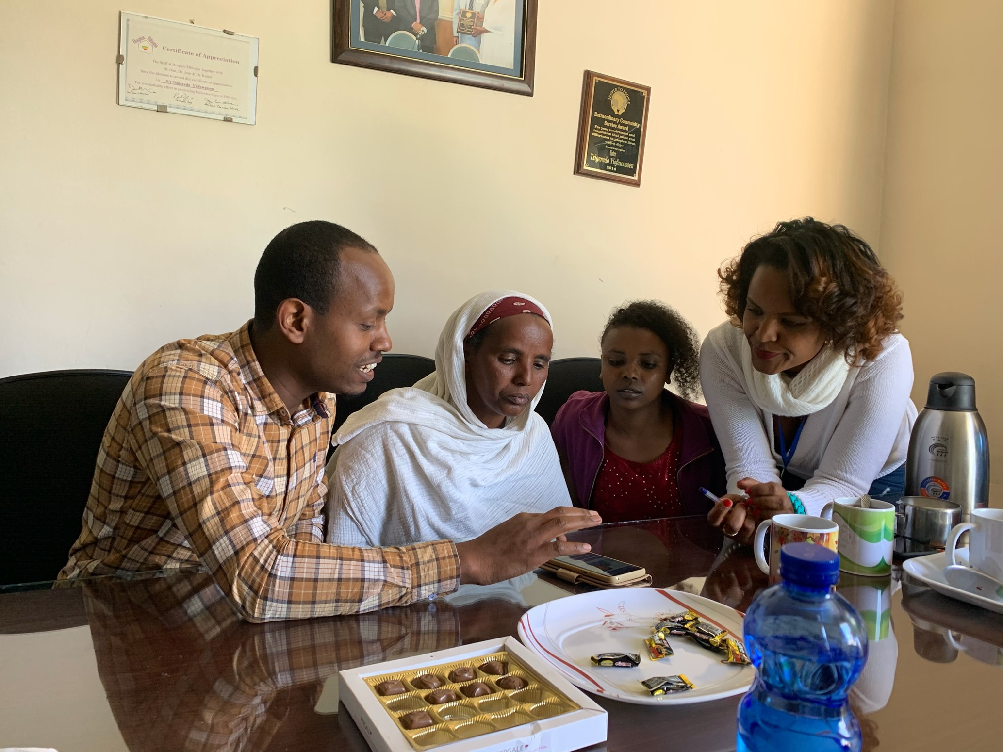 'It's like having a doctor in my pocket'; Developing a palliative care app for Ethiopia