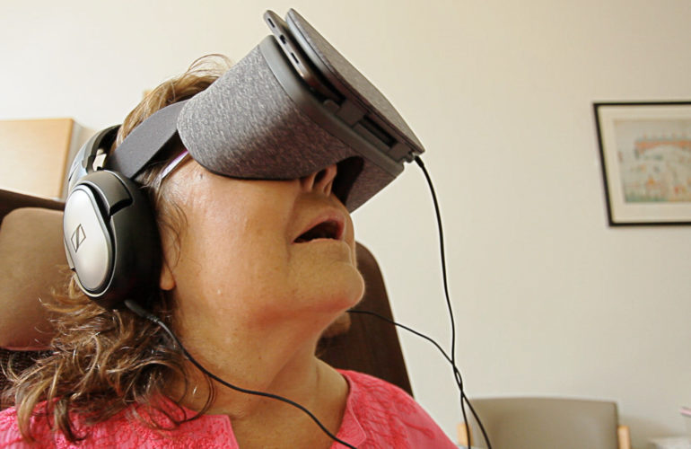 New study into Virtual Reality in a palliative care setting