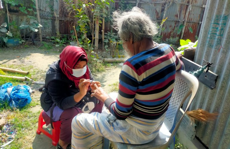 """""""Frontline Warriors of a Community Based Palliative Care setting in Bangladesh: Palliative Care Assistants"""""""