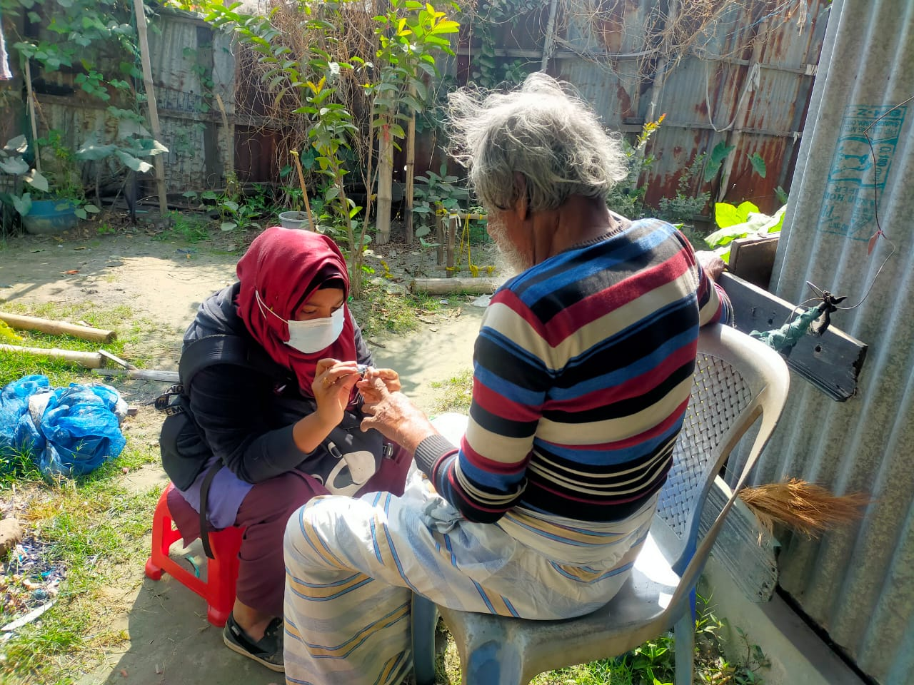 """Frontline Warriors of a Community Based Palliative Care setting in Bangladesh: Palliative Care Assistants"""