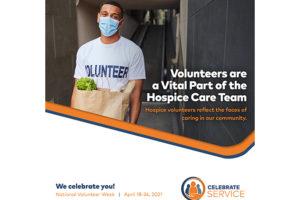 Celebration National Volunteer Week 2021