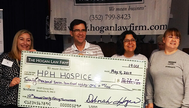 HPH Hospice as Beneficiary of 12th Annual Charitable Fishing Tournament
