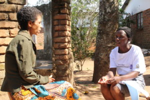 Providing personalised support to a TB patient in Malawi