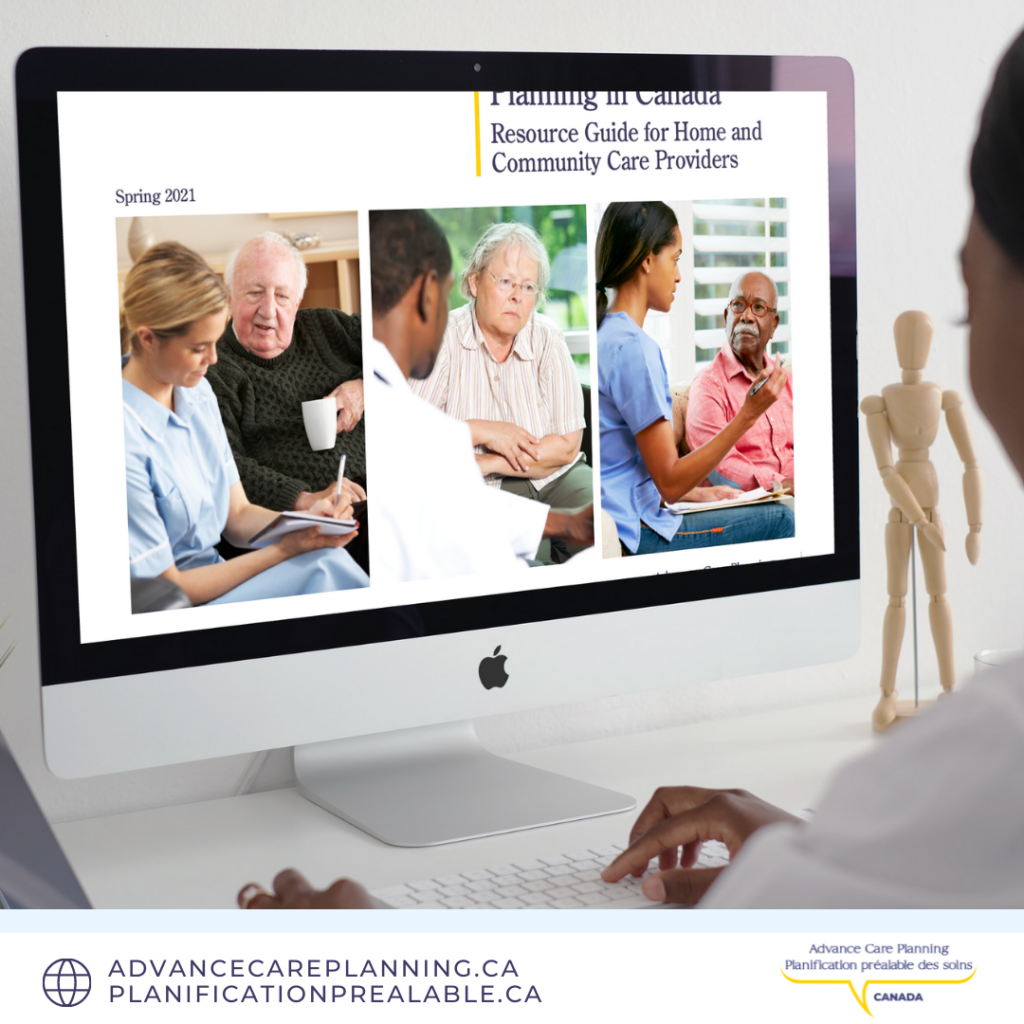 NOW AVAILABLE: ACP Resource Guide for Home & Community Care Providers