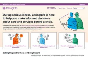 NHPCO's CaringInfo.org consumer-focused website