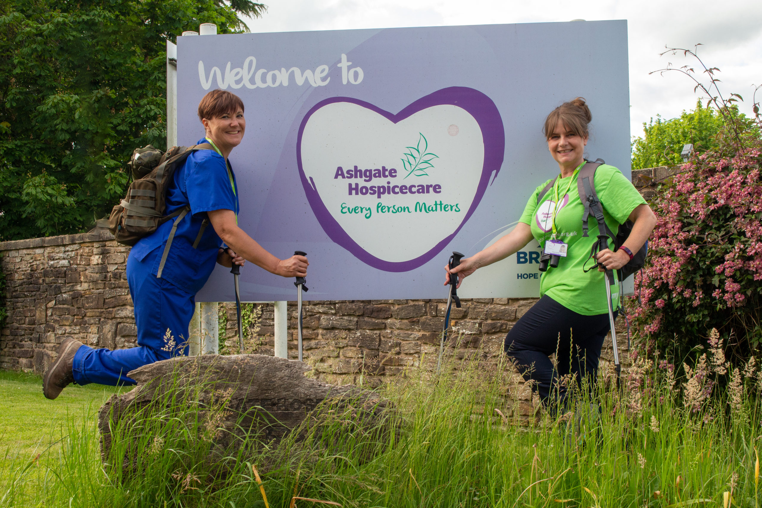 Fundraising Roundup II: Ashgate Hospicecare colleagues swap scrubs for hiking boots
