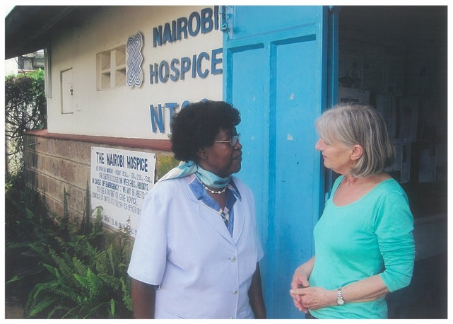Ruth Wooldridge - celebrating nurses contributions to palliative care