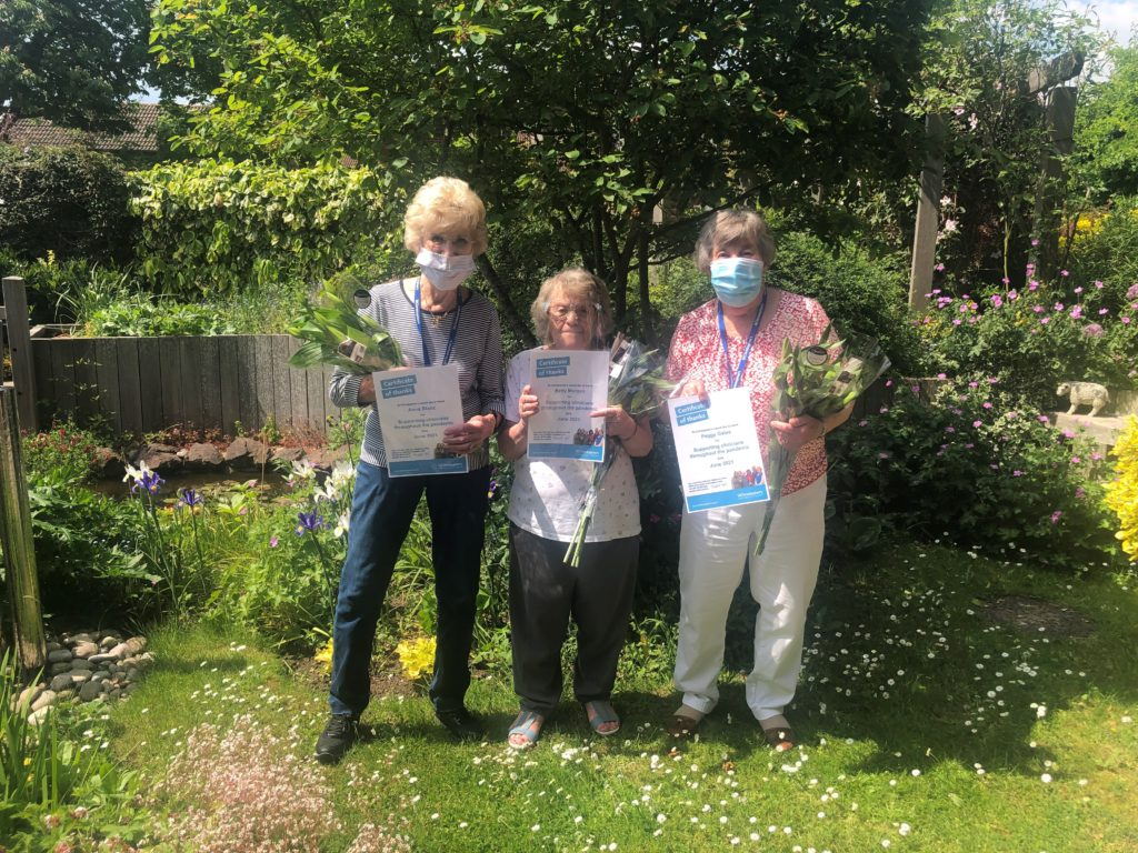 St Christopher's Hospice recognised with accolade for effective contribution of volunteers