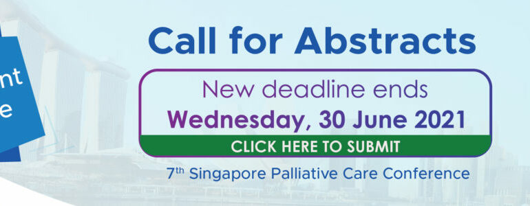 Call for abstracts on pediatric palliative care – Singapore Palliative Care Conference (SPCC) 2021