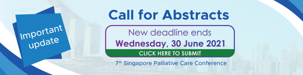 Singapore Palliative Care Conference (SPCC) 2021
