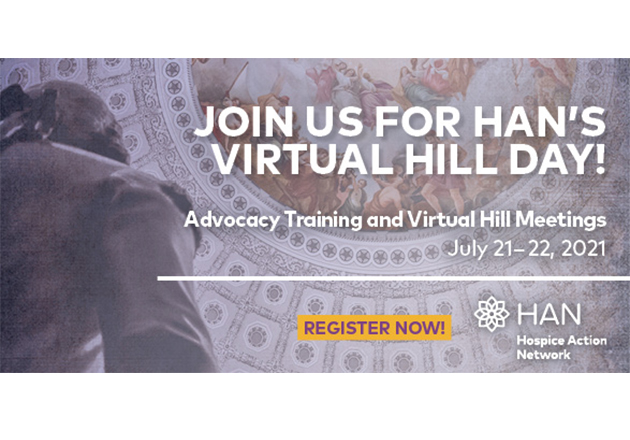 Hospice Action Network Virtual Hill Day 2021