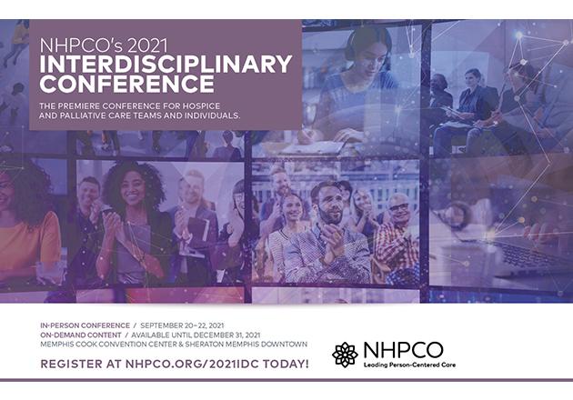 Registration Open for NHPCO's 2021 Interdisciplinary Conference in Memphis!