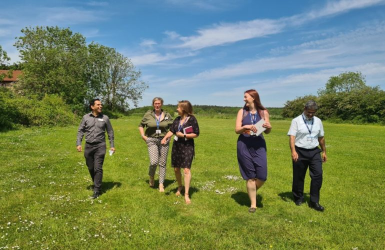 Charity leaders 'step up' to the challenge – raising thousands to fund new hospice nursing roles