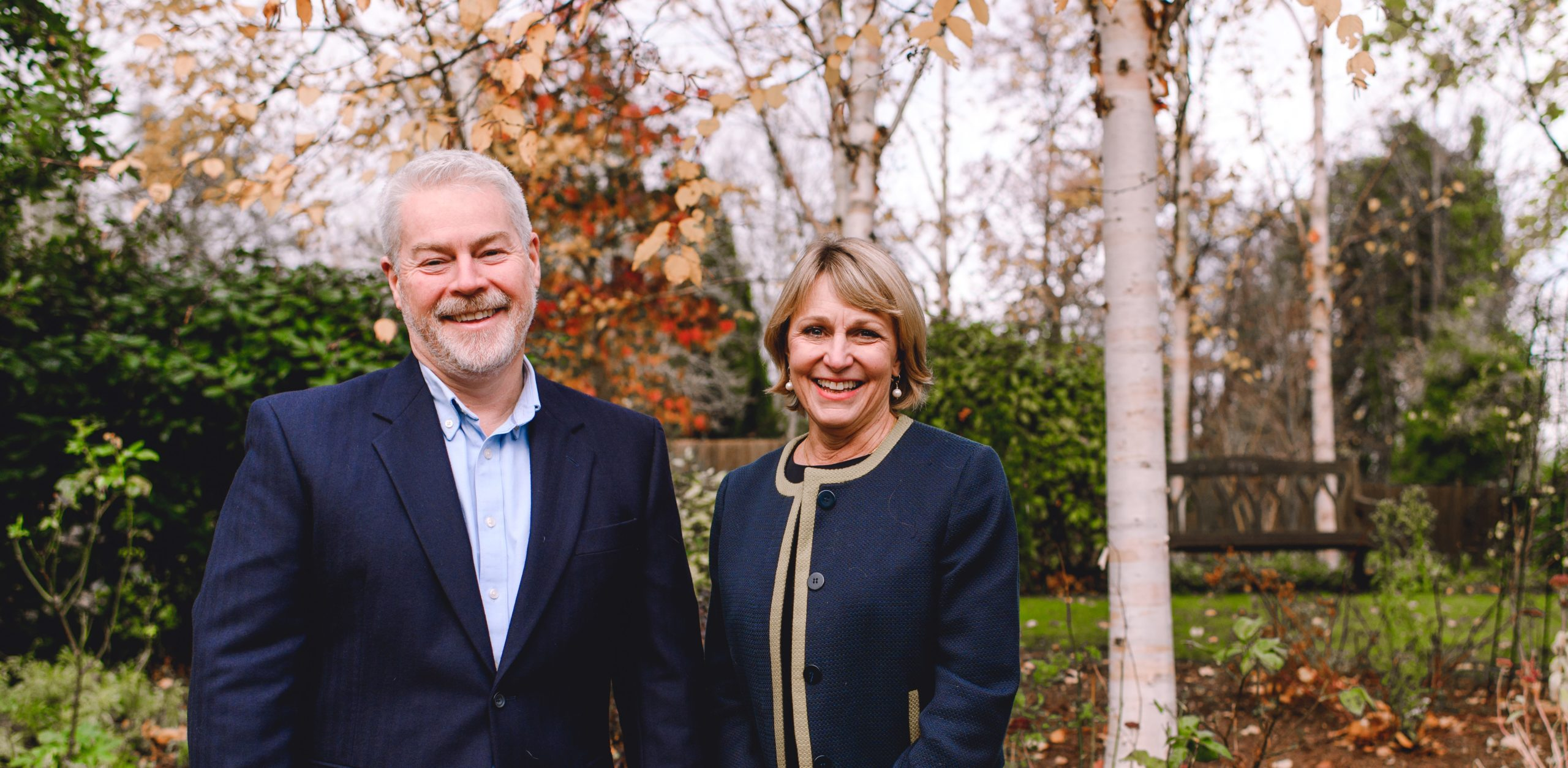 Shaun O'Leary and Heather Richardson to leave Joint Chief Executive role at St Christopher's Hospice