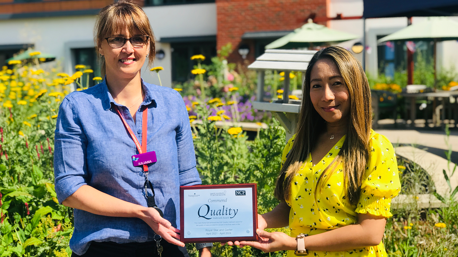 High Wycombe care home wins national award for providing outstanding end-of-life care