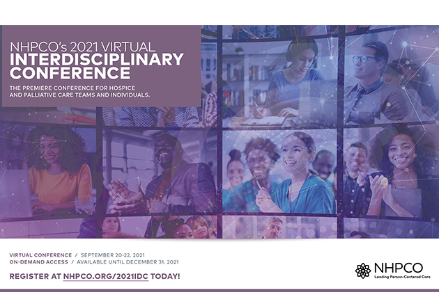 NHPCO 2021 Interdisciplinary Conference Goes Totally Virtual