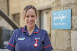 Sue Ryder Nurse Anne Parkinson will be helping faciltate research to improve end of life care for people in the West of England