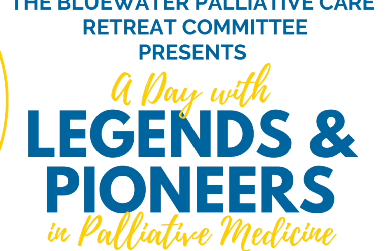 September 10 | A Day with Legends & Pioneers in Palliative Medicine