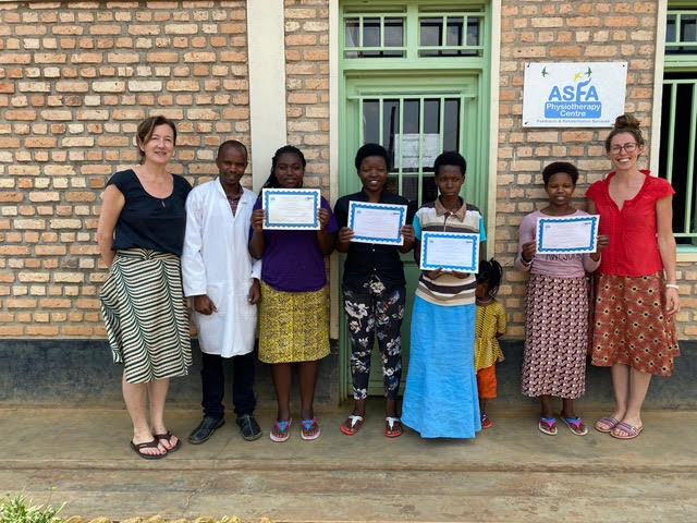 Physiotherapy changing lives… setting up a physiotherapy service in southern Rwanda
