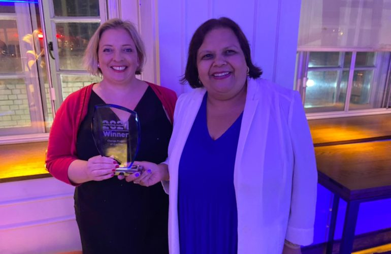 Local Hospice's Bereavement Support services scoop national charity award