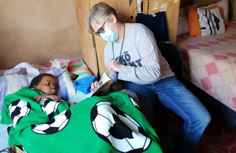 Home visits – an insight into the work of Umduduzi Hospice Care for Children